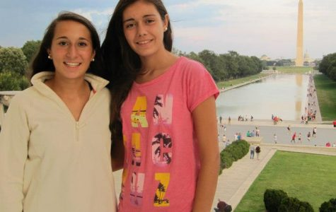 Sophomore Emily Sabia hosted exchange student Paula Lopez from the network school in Madrid, Spain. As a way to