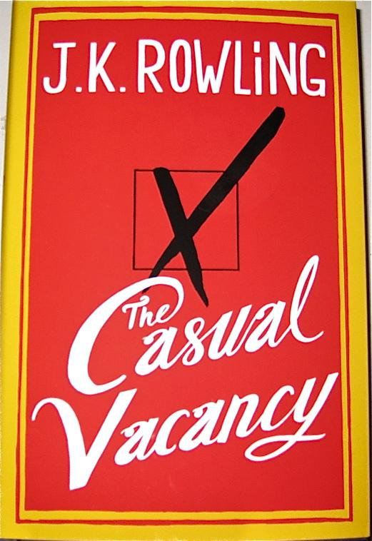J.K.+Rowling%27s+novel+The+Casual+Vacancy+was+released+in+bookstores+on+September+27.