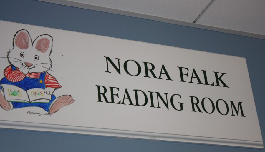 The+Nora+Falk+Reading+Room+is+dedicated+to+Nora+Falk%2C+a+former+student+who+positively+impacted+the+Sacred+Heart+community.%0AAlice+Millerchip+%2715