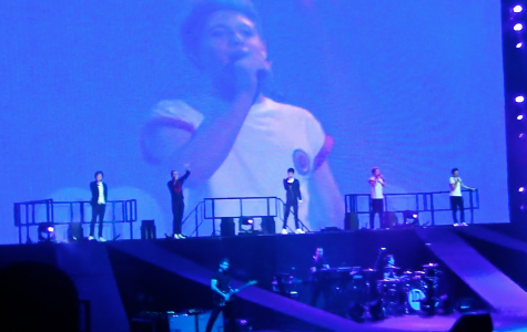 One Direction performed for the first time at Madison Square Garden on December 3. courtesy of Mary Grace Henry '15