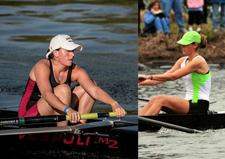 Kate+Foley+participated+in+Union+College+crew+for+four+years%2C+and+Holly+Geffs+rowed+with+Connecticut+Boat+Club+her+junior+and+senior+year.%0ACourtesy+of+Kate+Foley+and+Holly+Geffs