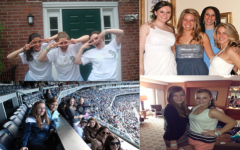Kim Benza through her four years of highschool. courtesy of Bianca Chiappelloni '15
