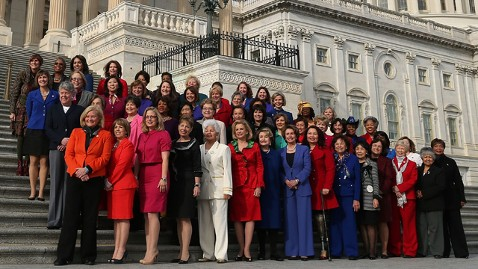 101 women serving in the 113th United States Congress were inaugurated January 3. courtesy of abcnews.go.com
