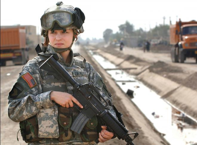 Women gain the right to fight in combat positions thanks to the decision of Leon Panetta. courtesy of International Business Times http://www.ibtimes.com/women-combat-now-its-official-they-were-already-fighting-1040702