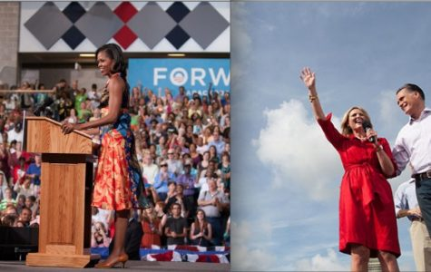Political wives, Ann Romney and Michelle Obama humanize their husbands on the campaign trail. Courtesy of mittromney.com and barackobama.com