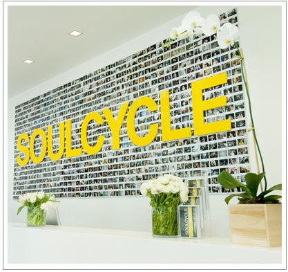 SoulCycle has 12 locations on the east coast alone. courtesy of soul-cycle.com