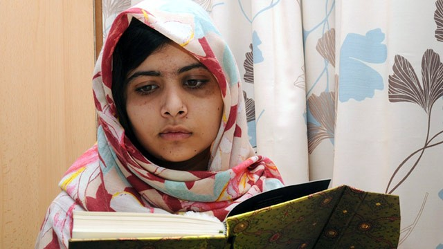 Pakastini Teenager Malala Yousfza is still recovering from the Taliban's assassination attempt, and vows to continue fighting for the right to be educated. Courtesy of ABC News