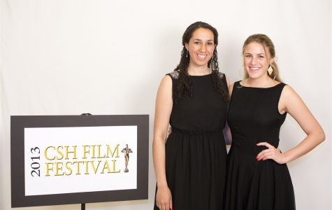 Seniors Jackie Batrus and Grace Jorgensen were the hosts for this year's Film Festival. courtesy of cshgreenwich.org