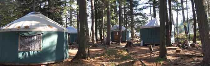 The+Adirondack+Semester+at+St.+Lawrence+college+offers+an+opportunity+for+students+to+stay+in+electronic-free+yurts+for+a+semester+to+study+nature+and+human+relations+with+nature.%0ACourtesy+of+stlawu.edu