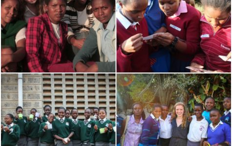 Convent of the Sacred Heart senior Mary Grace Henry recently traveled to Kenya to meet the beneficiaries of her company Reverse the Course's mission of changing girls education around the world. Cori Gabaldon '15