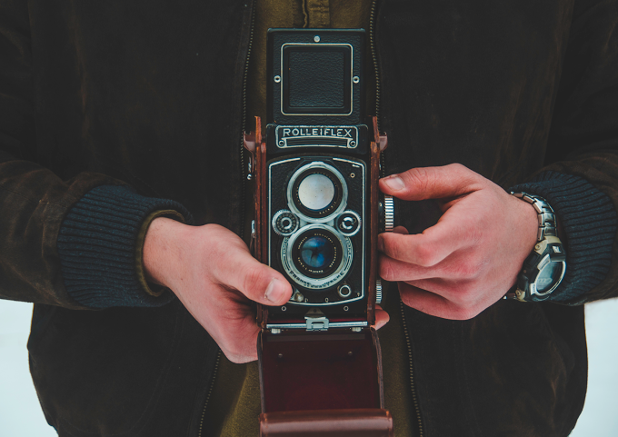 Photo of the Week - Rolleiflex - Courtesy of Allison Bornstein '14
