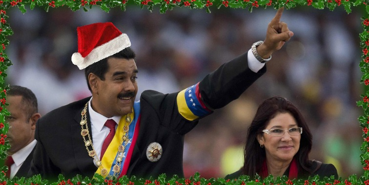 Venezuelan+President+Nicol%C3%A1s+Maduro+celebrates+Christmas+early+this+year+as+he+changes+holiday+to+November+in+Venezuela.%0AKatie+Nail+%2716