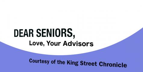 Dear seniors,...love, your advisors (Video)