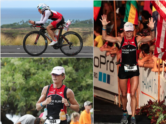 Ms. Kupersmith competes in the Ironman World Championship in Hawaii October 11. Photos courtesy of Ms. Kupersmith