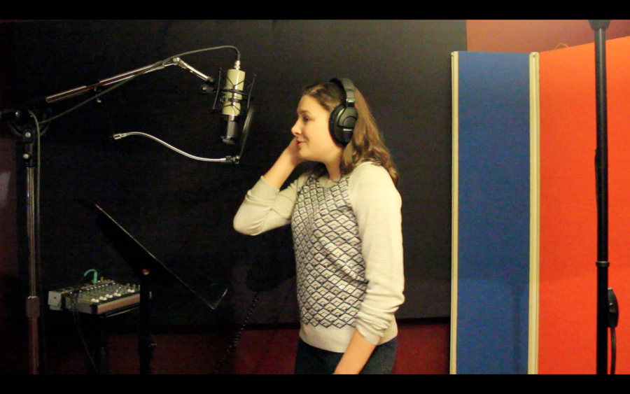 Junior+Pippa+Leigh+records+her+original+song+at+the+studio.%0ACourtesy+of+Pippa+Leigh+%2715
