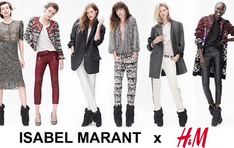 Here are some of of the many outfits previewed in the lookbook for Isabel Marant and H&M's collaborative clothing line. Priscilla Valdez '15