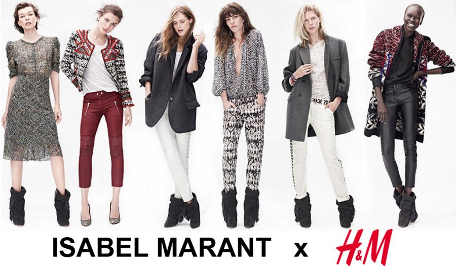 Here+are+some+of+of+the+many+outfits+previewed+in+the+lookbook+for+Isabel+Marant+and+H%26amp%3BM%27s+collaborative+clothing+line.%0APriscilla+Valdez+%2715