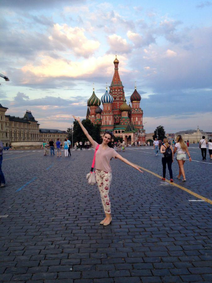 In+addition+to+ballet+training%2C+Olivia+spent+a+significant+portion+of+her+time+in+Moscow+immersing+herself+in+the+Russian+culture%2C+such+visiting+St.+Basil%27s+Cathedral.%0ACourtesy+of+Olivia+Thurman+%2716