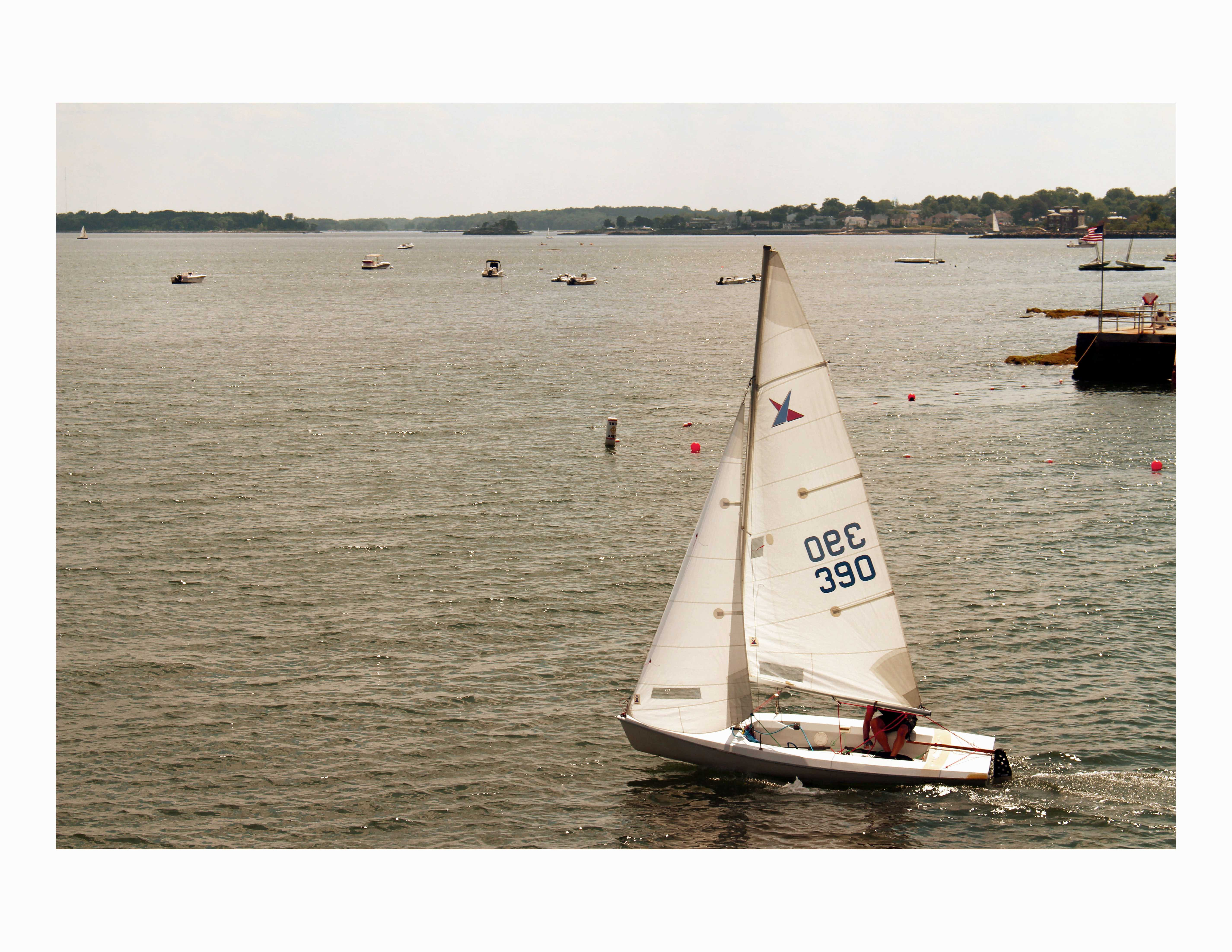 Photo of the Week - On the Water - Courtesy of Angela Jorge '14