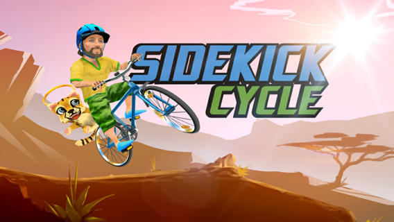 Global Gaming Initiative recently developed Sidekick Cycle to raise money for a variety of charities. Courtesy of iTunes