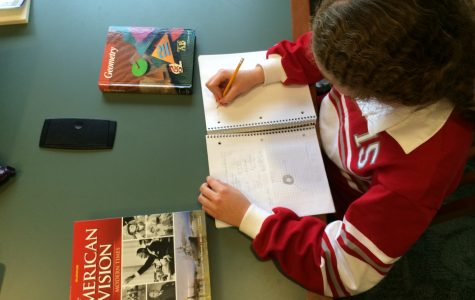 Students reconsider their study schedules in light of recent studies encouraging different review methods. Grace Isford '15