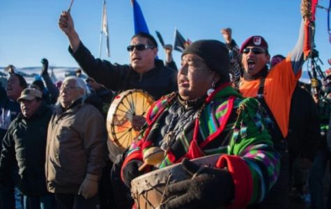 Tribe members celebrate partial victory against the pipeline Courtesy of cnn.com