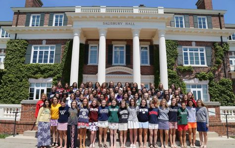 The Class of 2017 will soon leave its legacy behind at Sacred Heart and assume new responsibilities as college students. Courtesy of cshgreenwich.org