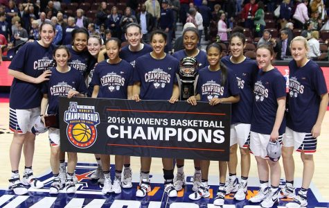 The UConn NCAA women national champions pose for a picture in celebration Tuesday, April 6. Courtesy of theuconnblog.com