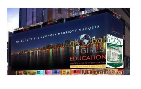 The National Coalition for Girls' Education hosted the 2016 Global Forum for Girls Education at the New York Marriot Marquis hotel. Nebai Hernandez '16
