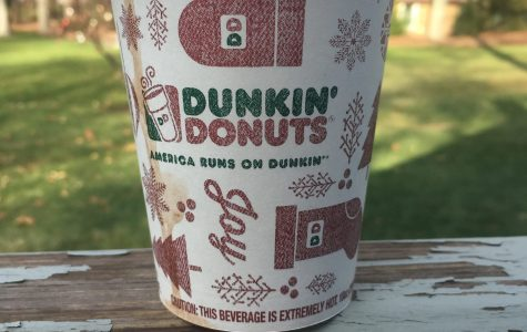 Dunkin' Donuts' seasonal Oreo Cookie Hot Chocolate. Grace Mather '17