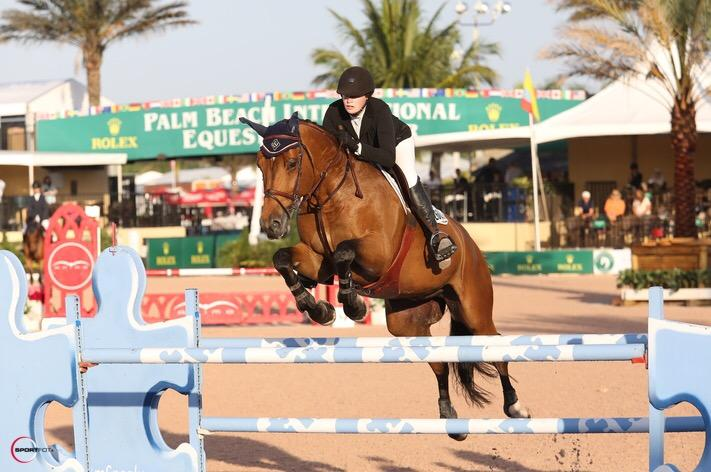 Grace+Powers+%2715+competing+at+the+Winter+Equestrian+Festival+in+Wellington%2C+Florida.