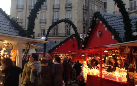 Christmas market in the city center Pau Barbosa '18