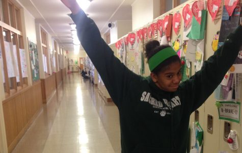Humans of Sacred Heart- Grace Campbell '16