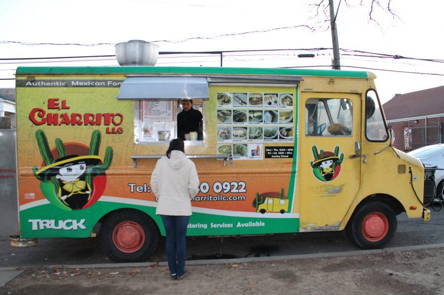 El Charrito, a Mexican food truck in Stamford, is known for selling Stamford's finest Taco's. Jessica Johnson '15