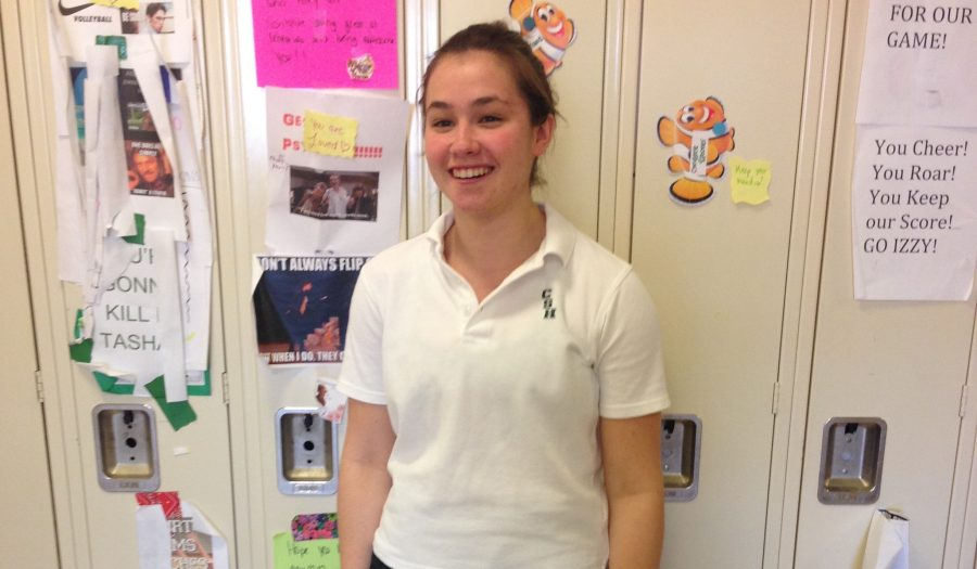 Humans of Sacred Heart- Cate Kulowiec '17