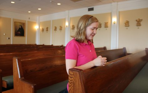 Senior Brooke Remsen confesses her secrets before she leaves Sacred Heart. Izzy Sio '16