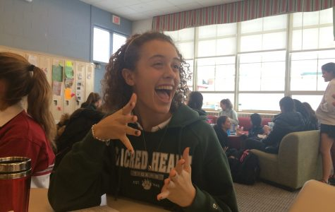 Humans of Sacred Heart - Catie Capolongo