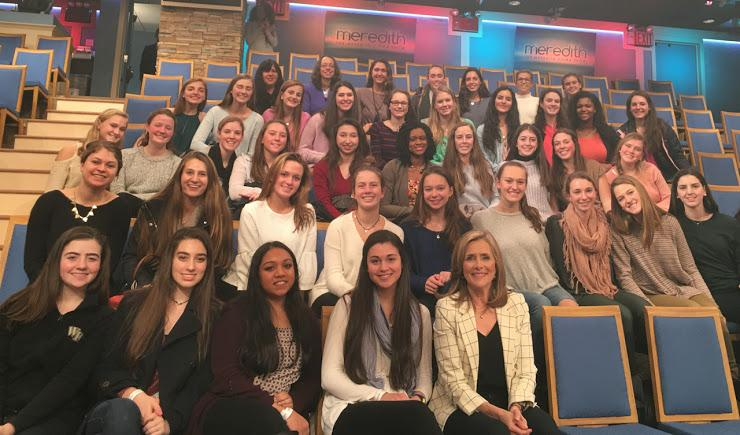 Behind the scenes with Meredith Vieira