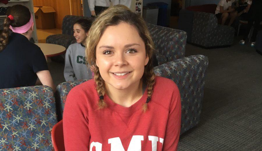 Humans of Sacred Heart – Tori Carley '16