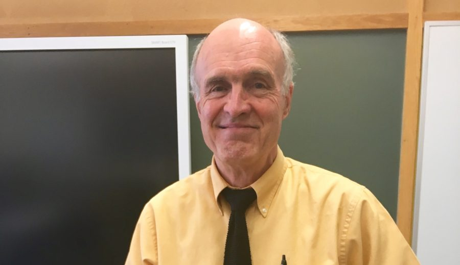 Humans of Sacred Heart  –  Mr. David Olson