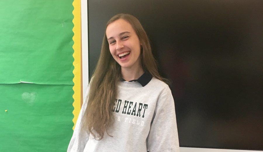 Humans of Sacred Heart - Ava Vanech '17