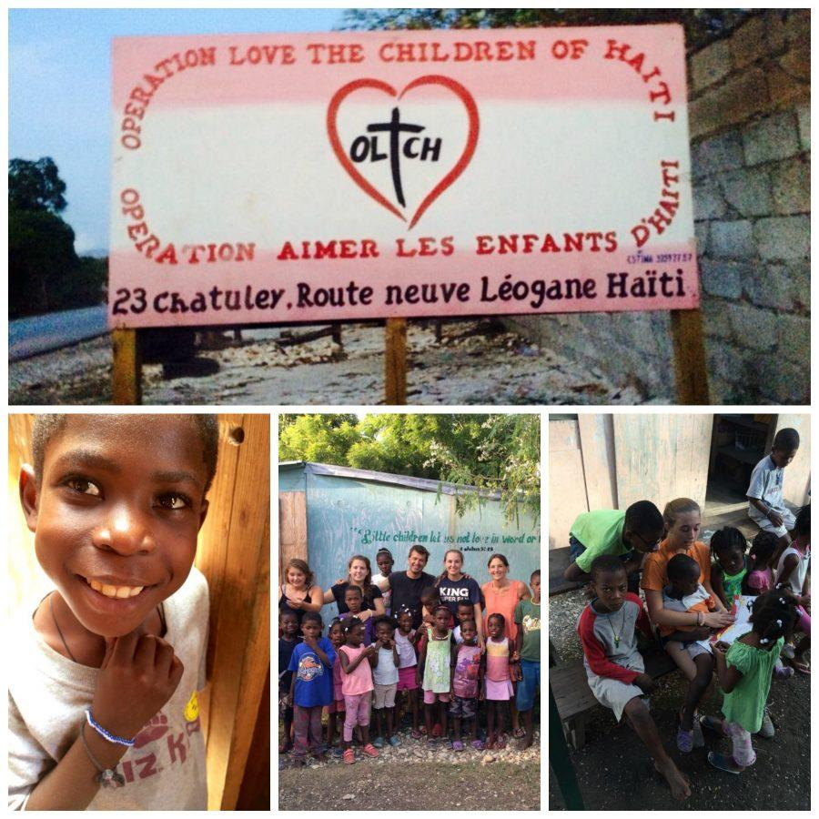 Convent of the Sacred Heart sophomore Rebecca Grady traveled to Haiti in July with her mother and two sisters to visit an orphanage through Operation Love the Children of Haiti. Kristen Davis '17