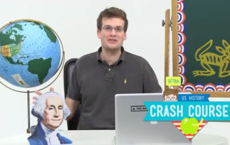 John Green educates students about English, history, and science in his online Crash Course videos.  Courtesy of Brooke Wilkins '16