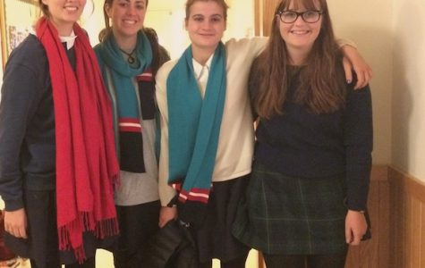 Maddie Coutts, Isabel Sigalla, Ruby Harrison and Eleanor Twomey visit Convent of the Sacred Heart, Greenwich on exchange from Sydney and Melbourne, Australia for the month. Alice Millerchip '15