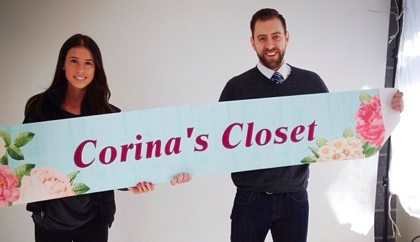 Charity from the heart - Corina's Closet