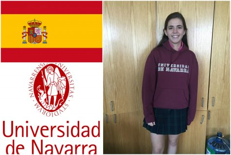 Senior Victoria Paternina will be attending the University of Navarra in Pamplona, Spain. - Holly Roth
