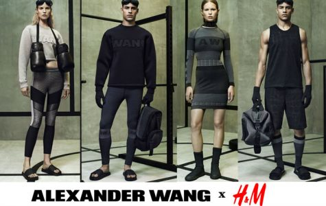 Alexander Wang's designs for H&M are sporty and statement-making. Priscilla Valdez '15