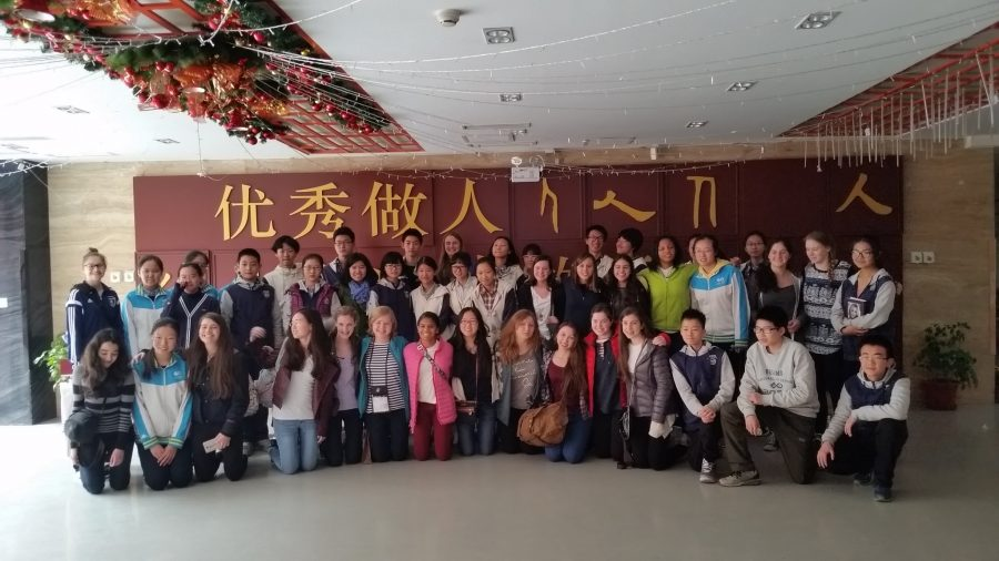 Convent+of+the+Sacred+Heart+Upper+School+students+and+Beijing+Jianhua+Experimental+School+high+school+students+bond+over+their+cultures+and+languages.%0ACourtesy+of+Mrs.+Joanne+Wu-Havemeyer.