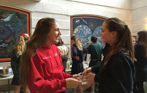 Humans of Sacred Heart - Magdalena Dutkowska and Kaitlin Edwardson