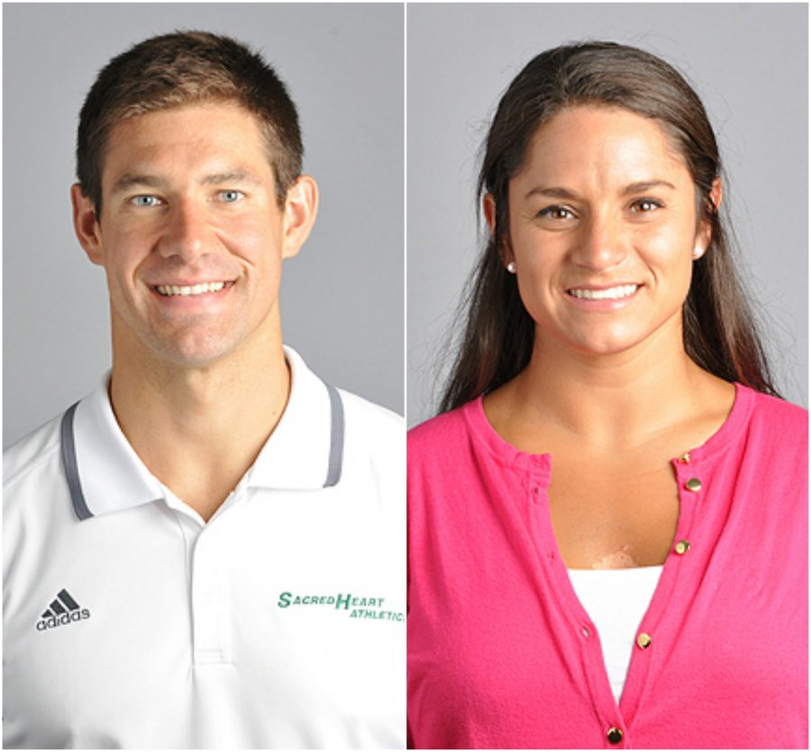 Mr. Brendan Heller New Athletic Operations Manager and Ms. Carolina Herrera New Athletics Coordinator